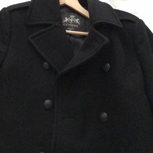 Double Breast Trench Pea Coat
